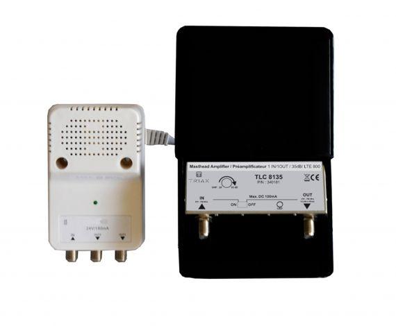 amplificador y fuente