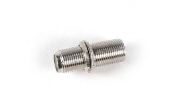 Conector empalmes F hembra - F hembra para cable coaxial