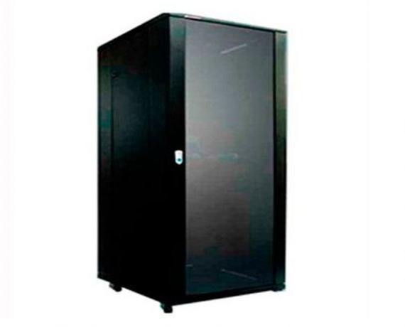 "Armario rack de 19"" de 42U, 800x1000mm. frontal"