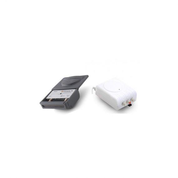 Kit amplificador de mástil 7322 25dB LTE2 Johansson + Alimentación