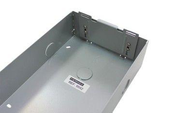 Caja de empotrar placa Milo 1 Línea MEET