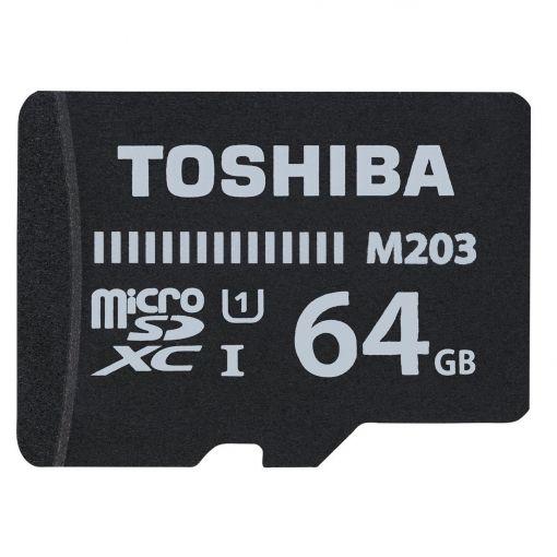 Toshiba M203 64GB Micro SD Memory Card