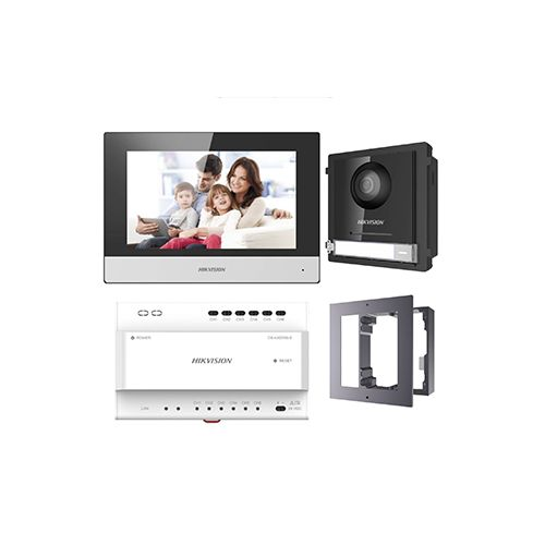 "Hikvision IP 2-wire video intercom kit 7"" monitor DS-KIS702"