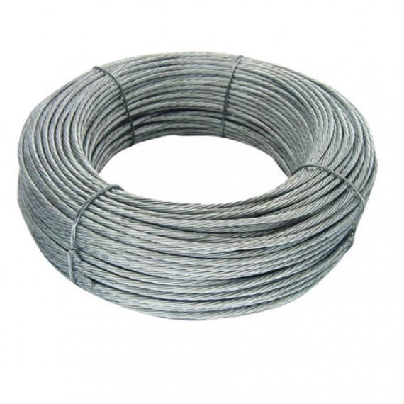 3 mm steel cable for 100 m coil winds 62004