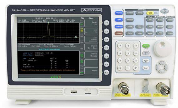 analizador de espectro
