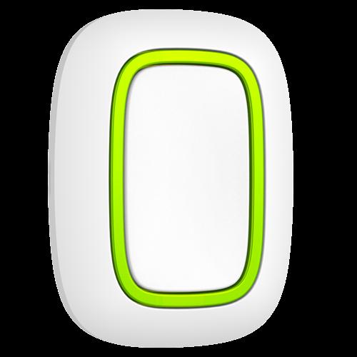 Botón de Pánico Blanco de AJAX AJ-BUTTON-W