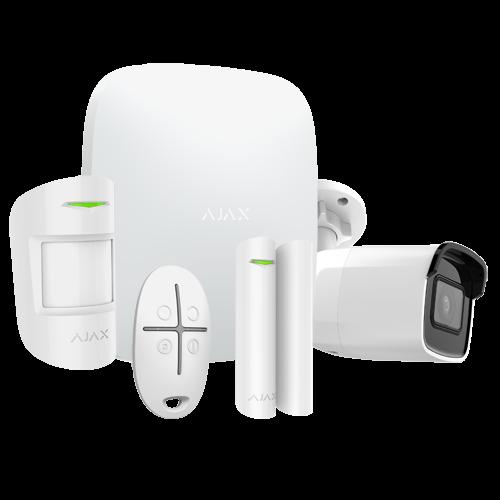 AJAX Wireless Alarm Kit AJ-HUBKIT-W-CAM