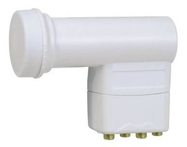 Skymaster Quad LNB converter 0.3 dB