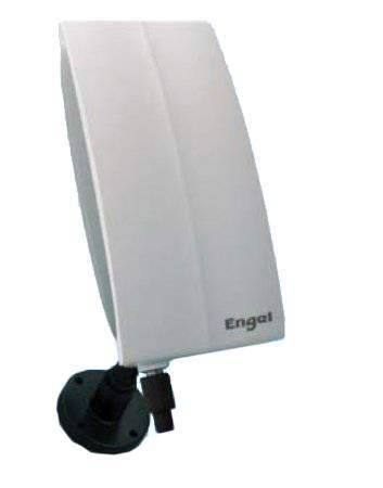 Antena de TDT exterior Engel 20 dB directiva (alimentación incluida)