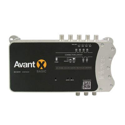 Televes 532101 Avant X Basic Programmable Multiband Amplifier