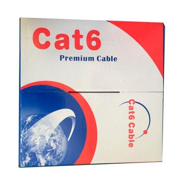 Cable UTP Categoria 6 CCS PVC Gris de Interior