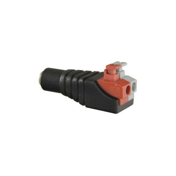 Conector DC Macho de fácil conexionado AV-CON285A Safire