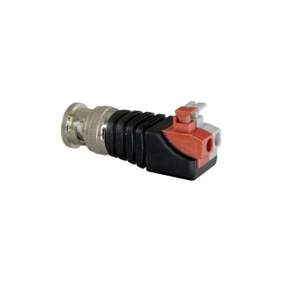 Conector BNC macho de fácil conexionado Safire CON290A