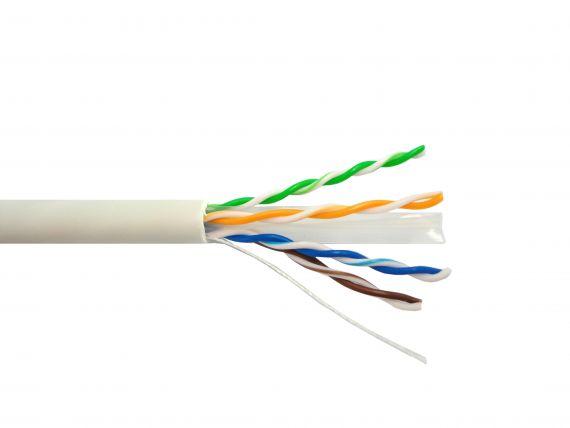 Cable UTP Cat6 LSZH CCA Blanco 305m CT6-CAE IKUSI
