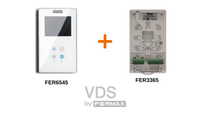 Monitor 6545 y Conector 6565 de Fermax