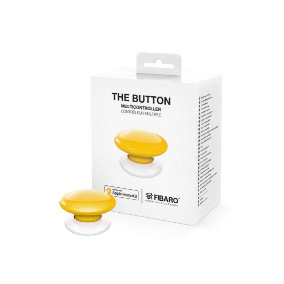 Botón amarillo domótico FGPB-101-4 ZW5