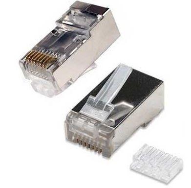 conector cat6a con guia