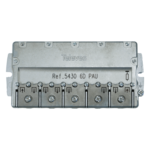 Televes 5430 PAU distributor of 6 outputs EasyF