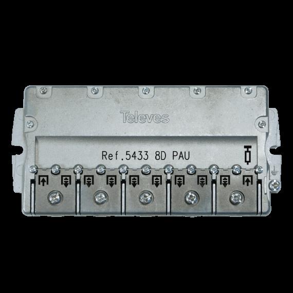 PAU de 8 salidas conexión Easy F