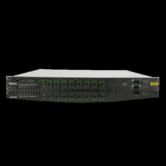 Amplificador de señal óptica de 8 salidas 769610 de Televes