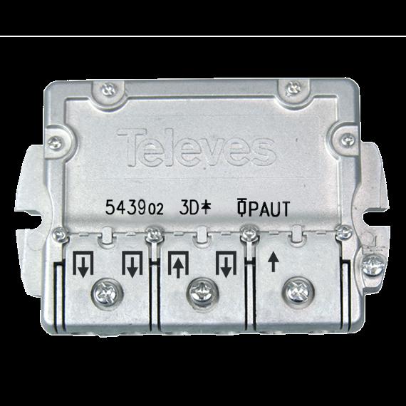 UAP Distributor with 3-way flange Televes 543902