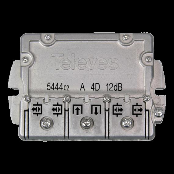 4-way flange shunt (12 dB) 544402 Televes