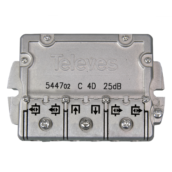 4-way flange shunt (25 dB) 544702