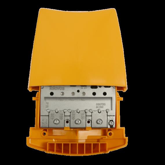 Amplificador Mástil 3e (FM-BIII/DAB-UHF) 36dB LTE 5G