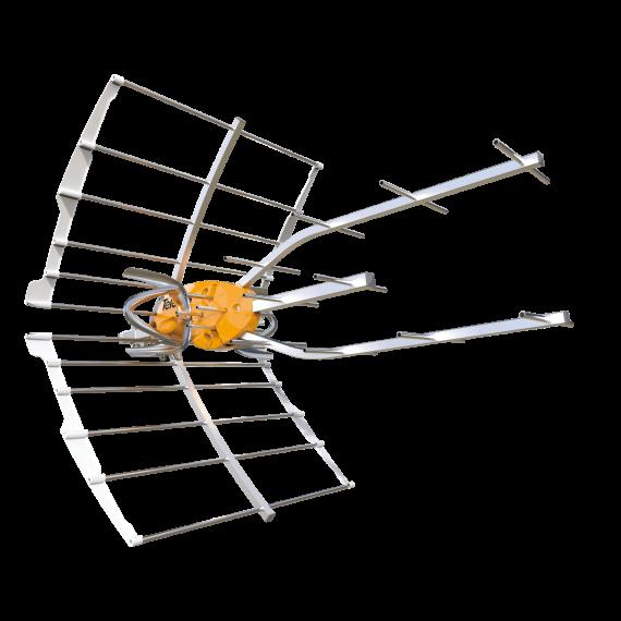 Antena UHF Ellipse Televes 148920 sin alimentador