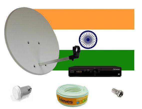 Kit para canales Indios Astra 2F 28.2º E de TDTprofesional