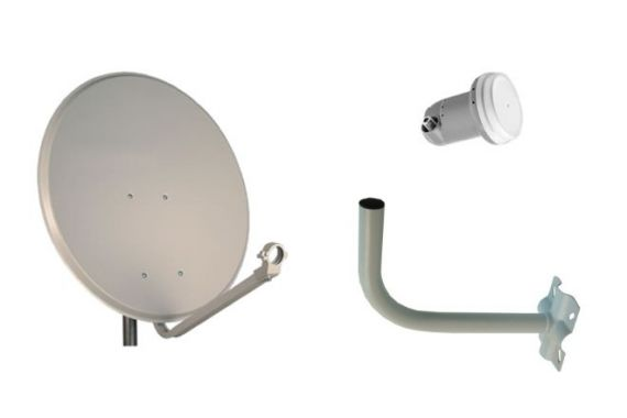 Daxis 60cm Parabolic Kit with LNB and Support