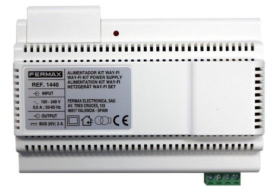 Fuente de alimentación 26V 2A para kit Way-Fi