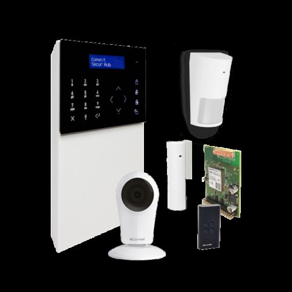 Kit Alarma SECUR HUB 3G WiFi con Cámara Comelit