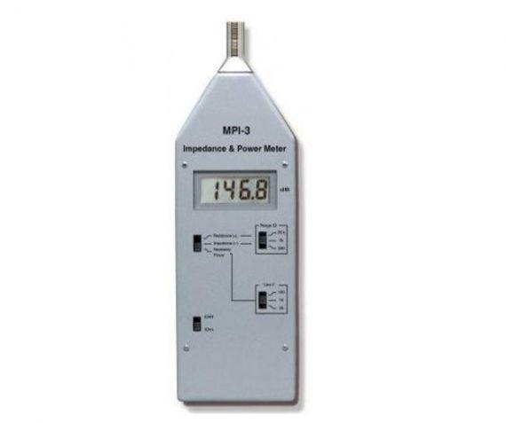 Medidor de impedancias de audio
