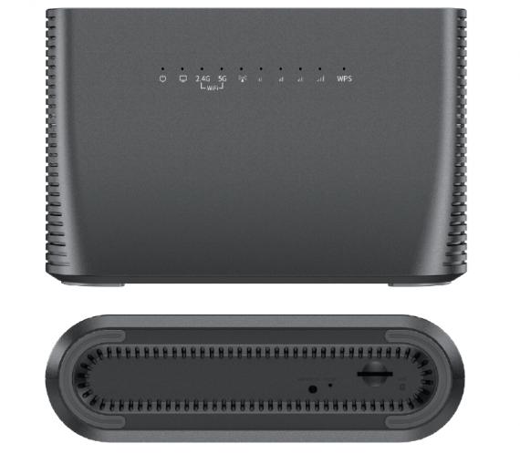 NuCom NA-R727 4G Router Dual Band WiFi x4 Ports