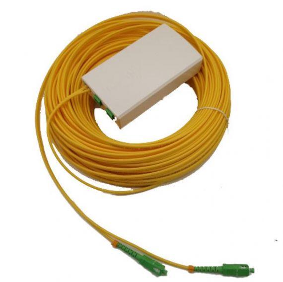 PAU FO 2 SC/APC con cable 25m de Bitel