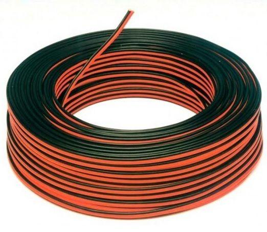 Bobina de 100 metros de cable de 2 hilos
