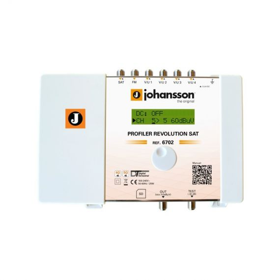Central Procesadora Profiler Revolution 6702HP de Johansson