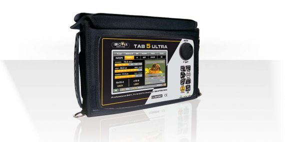 Medidor de Campo TAB 5 ULTRA DVB-T2/S2/C