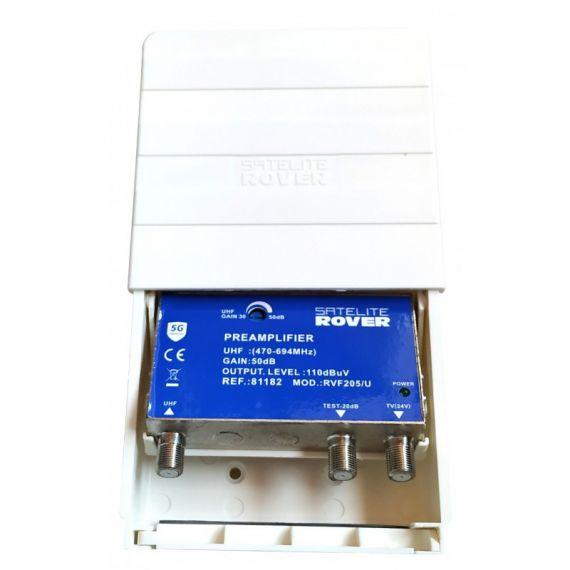 Amplificador de mástil 81182 de Satélite Rover RVF 205