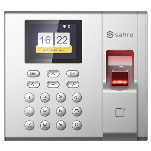 Safire access and presence control with Fingerprint, EM Card and Keyboard reader