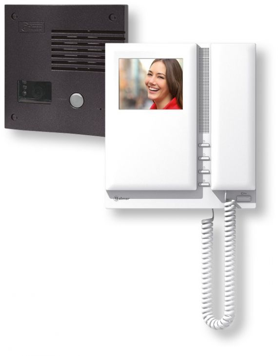 Golmar SV-801SE GRF Color Video Doorphone Kit 1 Line