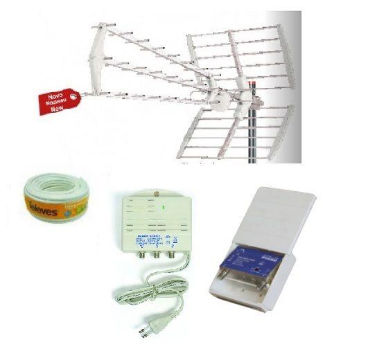 Kit de TDT LTE TDT0044 TDTprofesional