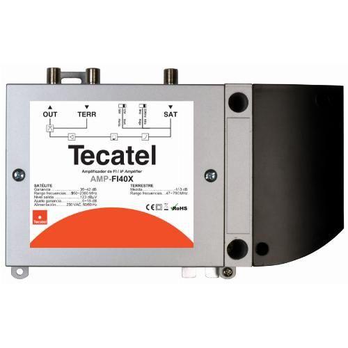 Central Amplificadora FI Tecatel 40dB AMP-FI40X