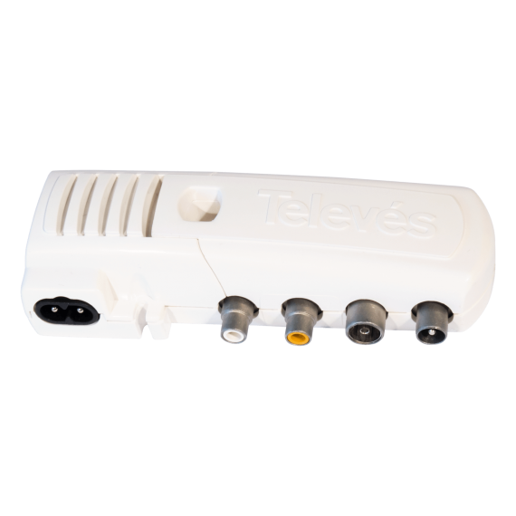 Conexiones TEL5858 modulador VHF/UHF