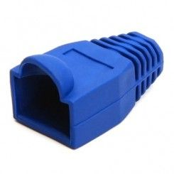 Cap for RJ45 connection in blue