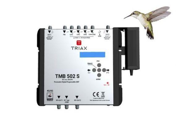 Procesador Digital Programable x2 SAT Triax TMB 502 S