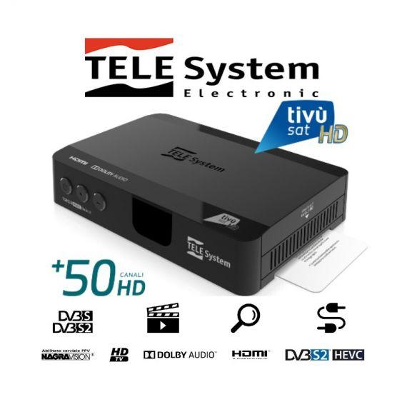 TIVÙSAT TeleSystem TS9018 Satellite Receiver