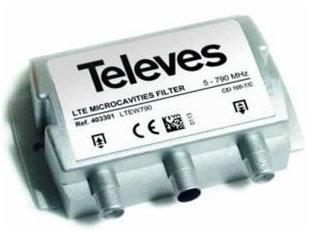 Filtros TDT. Filtros LTE para cabecera