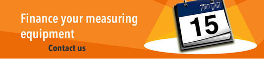 Finance your measuring equipment
